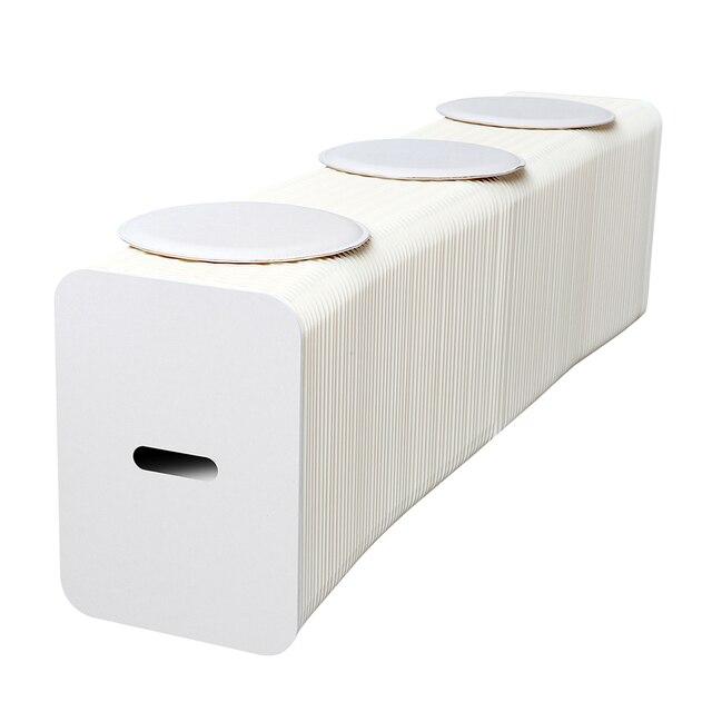 Ihpaper papel heces, comedor taburete, adulto Banco adecuado para 1 ...