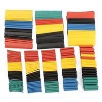 328Pcs 8 Sizes Multi Color SOLOOP Assortment Ratio 2 1 Heat Shrink Tubing Sleeving For Wrap