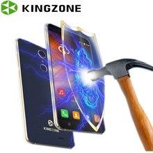 Kingzone S3 5 Pouce Smartphone Antichoc Quad Core 1 GB RAM + 16 GB ROM D'empreintes Digitales Wifi GPS Telefon Celular 3G Déverrouillé Les Téléphones Cellulaires