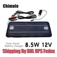 40pcs Portable Solar Cell charger 12V 8.5W Solar Panel Car Boat Motorcycle Motor Vehicle Charger System 12V battery charger