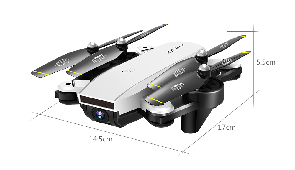 RC Helicopter With HD Camera Wide Angle Selfie Drone Palm Control Quadcopter With WiFi Camera SG700 Upgraded Version SG700s Dron 26