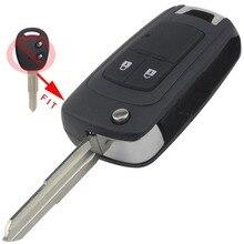 2 Кнопки Изменения Заменить Складной Автомобиль Пустой Ключ Удаленных Случае брелок Обложка Для Chevrolet Aveo Замена Флип Ключ Оболочки с логотип