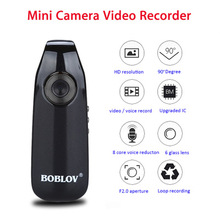 Yinew IDV007 Mini Camcorder Full HD 1080P Camera Wearable Pen camera Video Recorder Police Cop Cam Bike sports