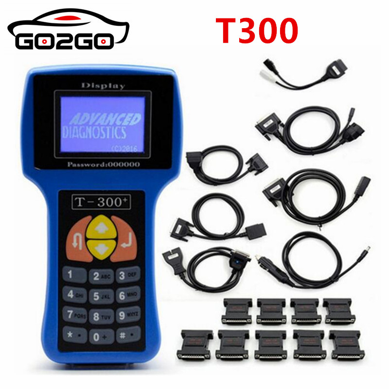 Hot Professional T 300 T300 Auto Key Programmer T Code T 300 Software 2018 V17.8 Support Multi brand Cars T300 Key Maker 2 Color