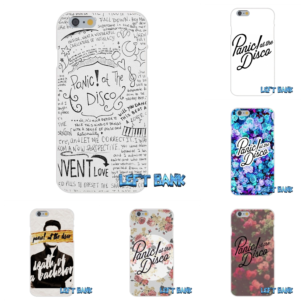 Panic At The Disco Silicon Soft Phone Case For HTC One M7 M8 A9 M9 E9 Plus Desire 630 530 626 628 816 820