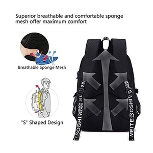 Image 4 - BPZMD Avengers Luminous Backpack Canvas Print Rucksack Laptop Backpack School for Boys USB Charging Travel Student Backpack Bag