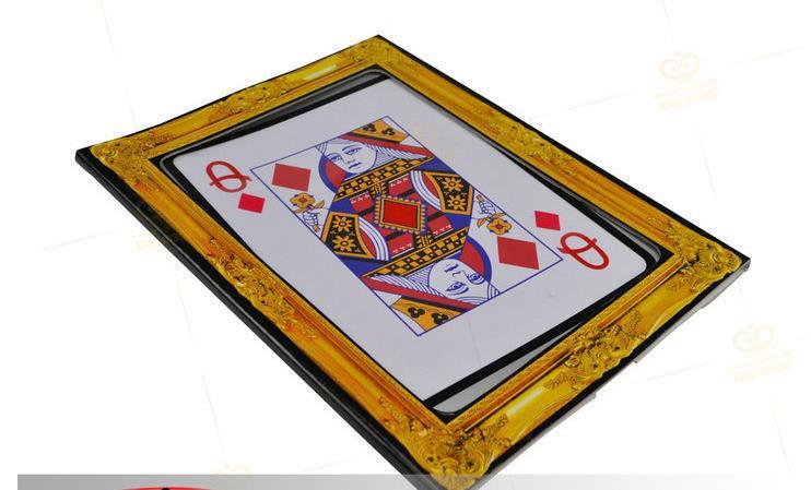 Ace zu Königin/Jumbo fahrrad karte/Vorhersage Made Sichtbar-Zaubertricks, Mentalmagie, Kartenmagie, Close Up, Bühne,...