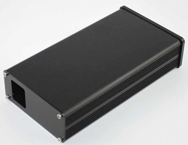 WA41 Penuh aluminium penguat chassis/Tabung amp/Amp amplifier/Decoder DAC/AMP Enclosure/kasus/DIY box (115*50*218mm)