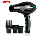 Anti-Radiation Design RIWA Black Bee Seires Hair Dryer 1800W High Power AC Motor Professional Blow Dryers With Comb