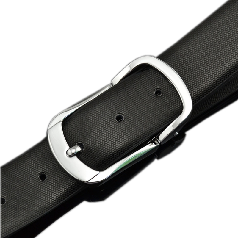 2019 Pin buckle belt for men Black brown white Leather Fashion classic Designer High