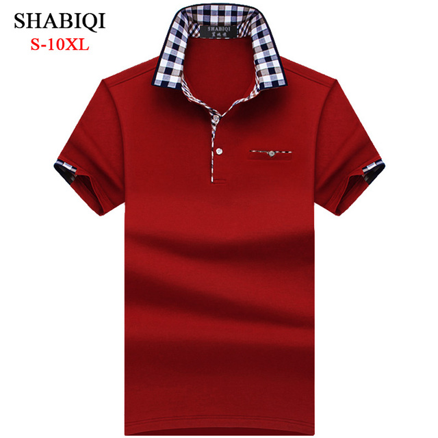 Plaid Collar Polo Shirt 4