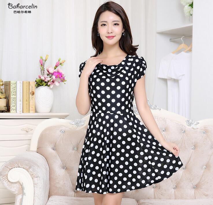 Платье в горошек дешево
