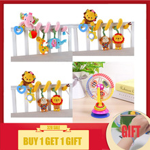 Купить с кэшбэком Baby toys 0-12 months colorful ferris wheel rattles for baby newborn baby stroller toys educational/music/mobile baby toys