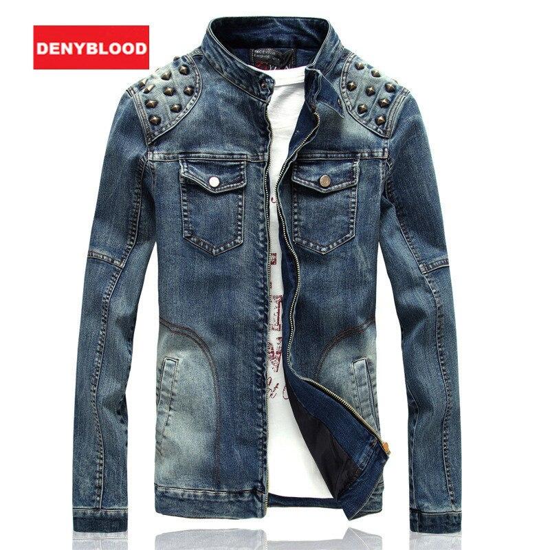 Popular Studded Denim Jacket for Men-Buy Cheap Studded Denim ...