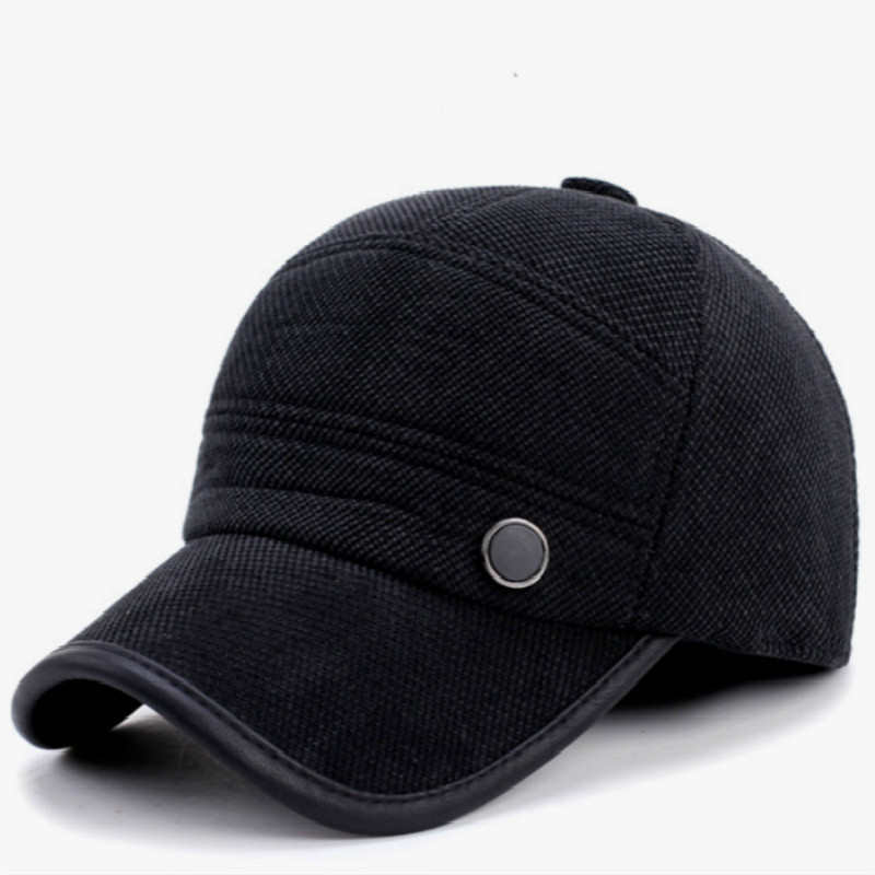 61164680627 Thickened Warm Earflap Winter Baseball Cap For Men Outdoor Windproof Ear  Flap Ski Cap Male Snapback Hat Retro Trucker Hat Bone-in Baseball Caps from  Apparel ...