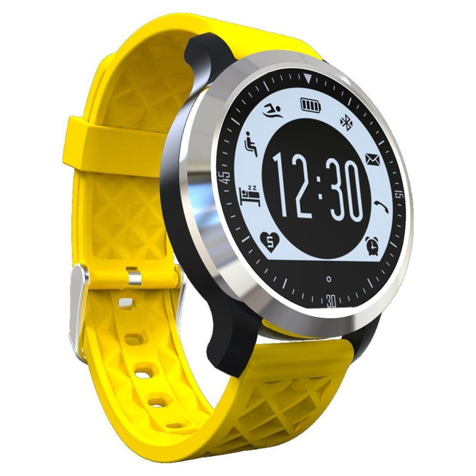 Makibes F69 Pro Sports Smart Watch IP68 Waterproof Swimming Heart Rate Sleep Monitor Pedometer Call SMS