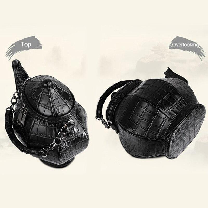 2018 HOT kettle Messenger Bag Unisex Hard Cool Personality Satchel Korean Female Male Single Shoulder Handbag Bag Teapot bag