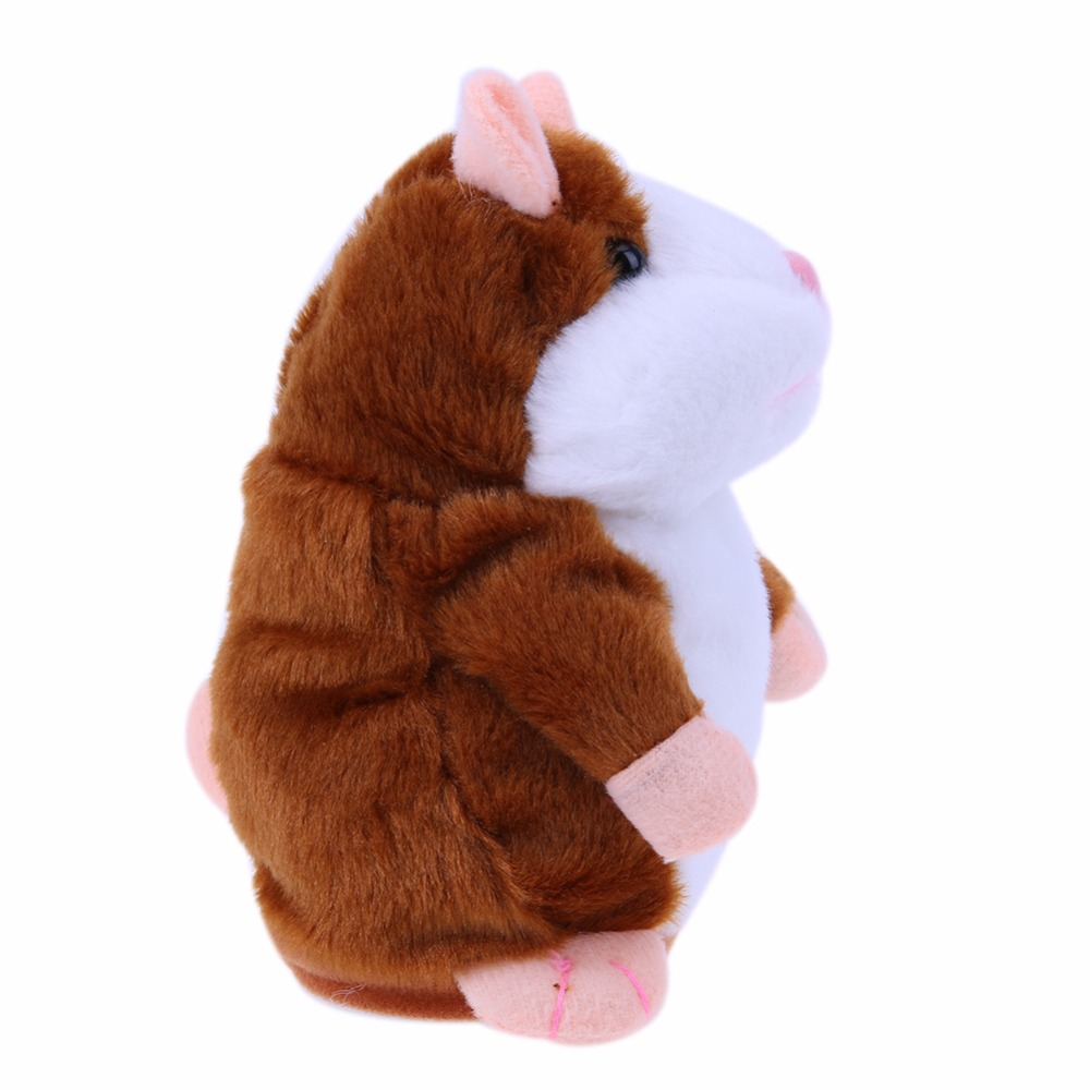 Image 4 - Kids Hamster Plush Speak Sound Toys Baby Electronic Pets Cute Plush Dolls Sound Record Speaking Hamster Talking Toys Xmas Gifts-in Electronic Pets from Toys & Hobbies