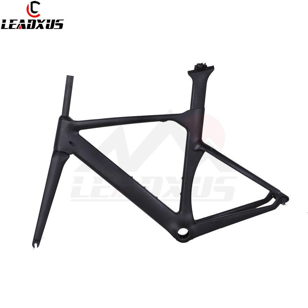 LEADXUS MAC333 T800 Carbon Fiber Bicycle Frame Matte/Glossy Road Bike Carbon Frame Size XXS,XS,S,M,L,XL