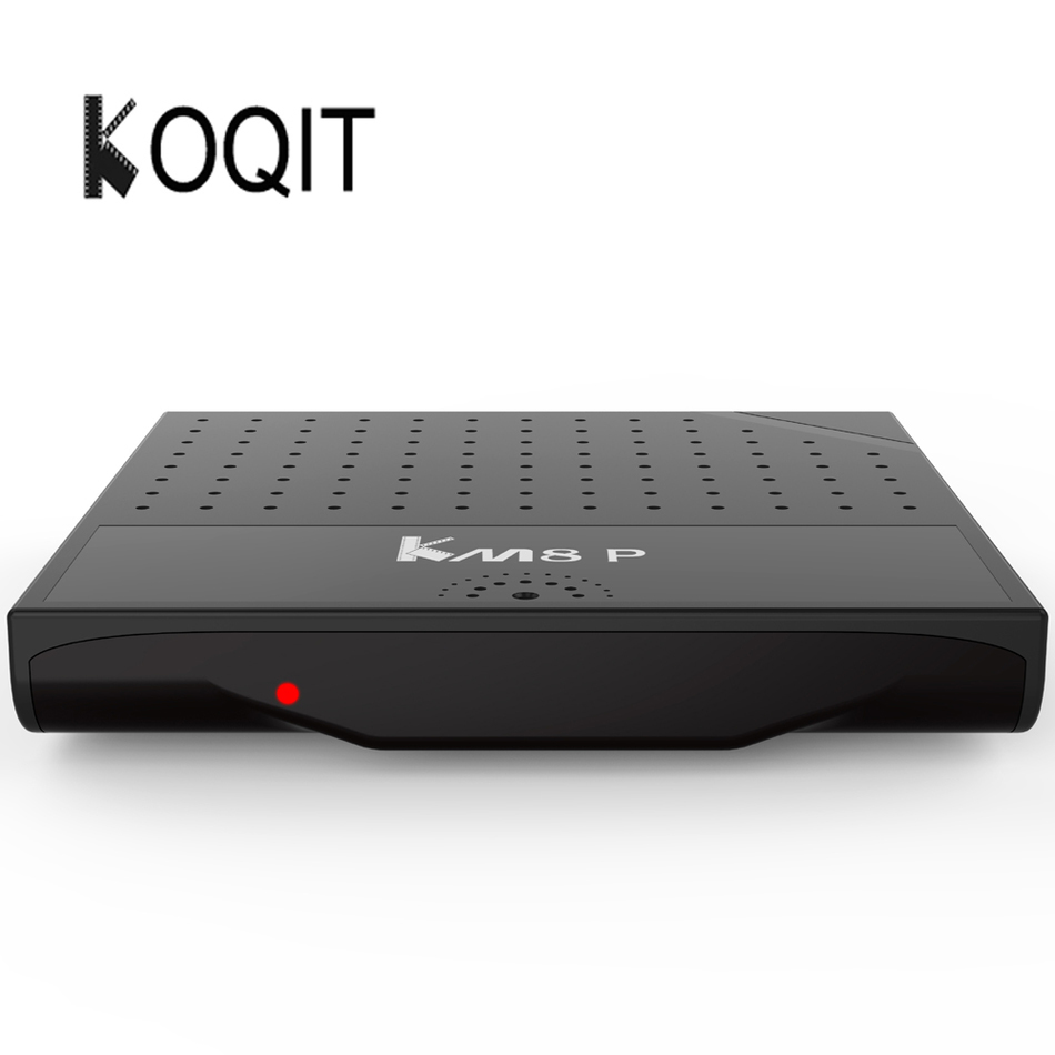 KOQIT Android 6.0 H.265 4K Smart Set Top Box 2.4GHz WiFi HDMI 2.0 4K (1G RAM 8G Flash) 17.0 KM8P Amlogic S912 Octa Core TV Box mx plus amlogic s905 smart tv box 4k android 5 1 1 quad core 1g 8g wifi dlna потокового tv box