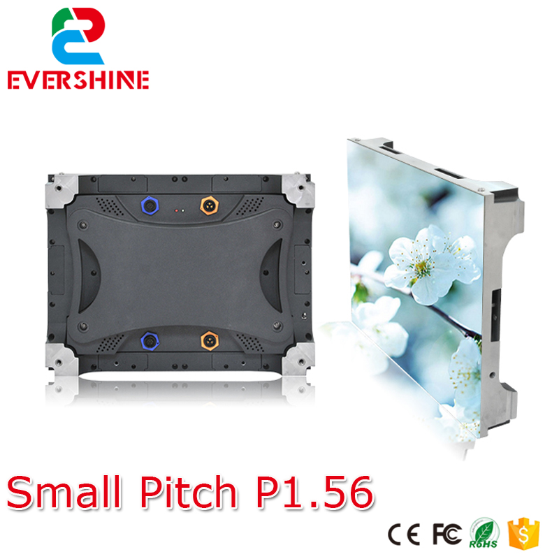 HD small pixel pitch P1.56 indoor full color vedio led display screen for advertising meeting,stage,monitoring,Conference,malls