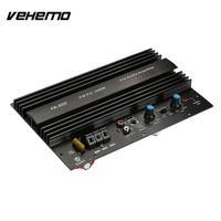 Vehemo Power Amplifier Car Amplifier Audio Amplifier Black 12V Hi Fi Portable Automobile AMP Music