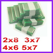 Плат двухстороннее прототип dropshipping медь совет печатных arduino универсальный см шт.