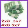 20 pcs 5x7 4x6 3x7 2x8 cm duplo Side protótipo Copper pcb Placa Universal para Dropshipping Arduino Frete Grátis