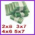 20 unids 5x7 4x6 3x7 2x8 cm doble Side prototipo Copper pcb Junta Universal para Dropshipping de Arduino Envío gratis