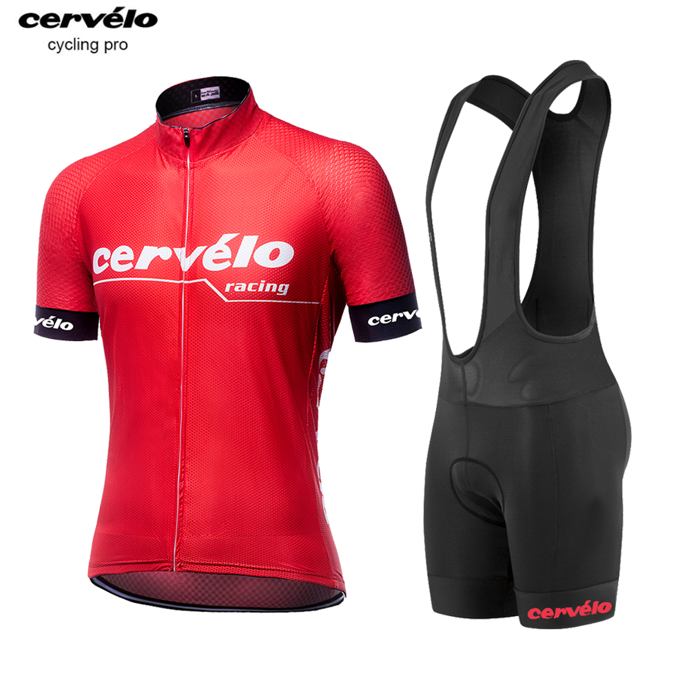 2019 Italy Sleeve End Pro Cycling Set Men Cycling Clothing Racing MTB Bicycle Bike Clothes Breathable Maillot Roupa Ciclismo Red