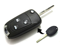 10pcs Lot New 3 Buttons Modified Folding Remote Key Flip Fob Shell For FORD FOCUS MONDEO