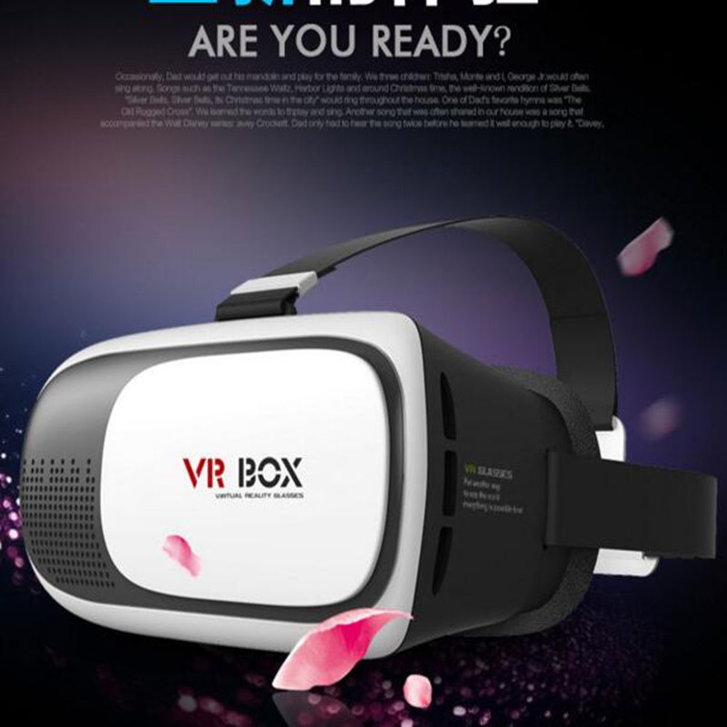 Brand New font b VR b font Box Play Edition 3D Virtual Reality Headset with Bluetooth