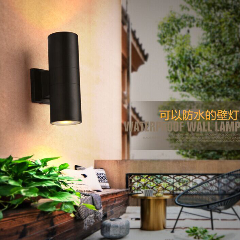 Modern Wall Lights Up And Down Garden Simple Beside Lamp Dining Room Restaurant Sconce Light Decoration Home Lighting In Lamps From