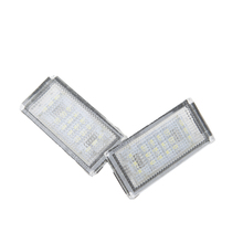 2 PCS Car Light Error LED Number License Plate Lights 6000K Plate Light Bulb For BMW/MINI COOPER S R50 R53 Accessories стоимость