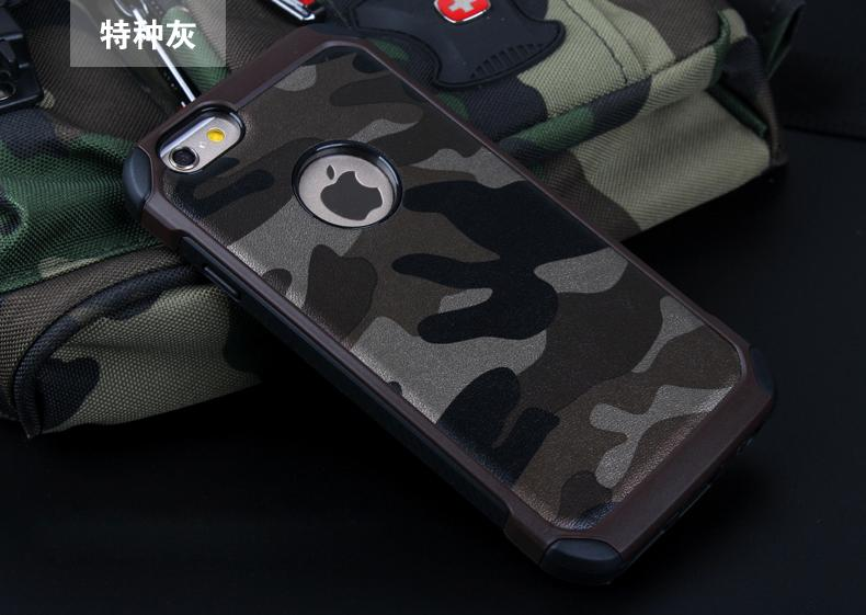 2 1 Army Camo Camouflage Pattern Back Cover Hard Plastic Soft TPU Armor Protective Phone Cases iPhone 5 5S 6 6S Plus - MISS22 store