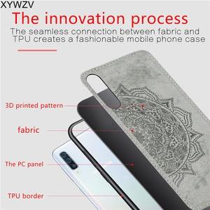 Image 5 - עבור סמסונג גלקסי A50 מקרה רך סיליקון יוקרה בד מרקם קשיח מחשב מקרה טלפון עבור Samsung Galaxy A50 כיסוי עבור סמסונג A50