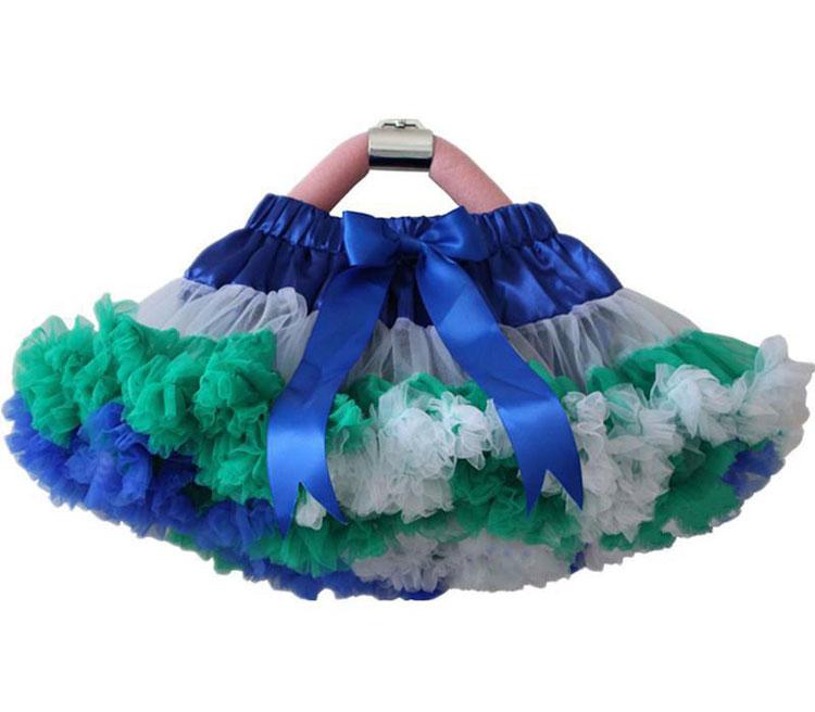e0540ff46 Falda tutú para niñas, falda con volantes, falda de Ballet, faldas de baile  de princesa, ropa de ...