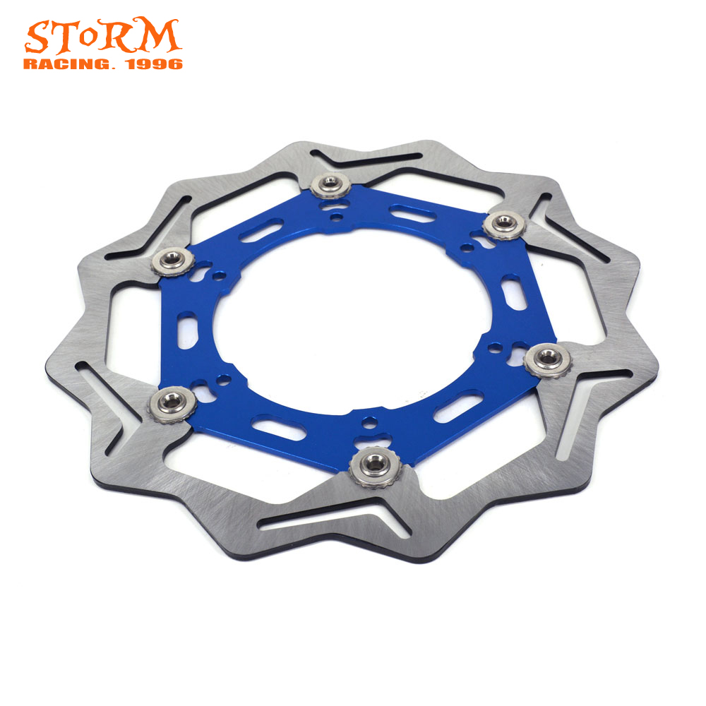 270MM Wavy Front Floating Brake Discs For YAMAHA WR250 WR 250 YZ250 WR250F YZ250F WR426F YZ426F WR450F YZ450F 03 04 05 06 07 mfs motor motorcycle part front rear brake discs rotor for yamaha yzf r6 2003 2004 2005 yzfr6 03 04 05 gold