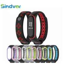 Strap for Mi Band 4 Accessories Sport Bracelet Strap for Xiaomi mi Band 3 4 Wrist Straps Smart Silicone Watch Band Miband 4