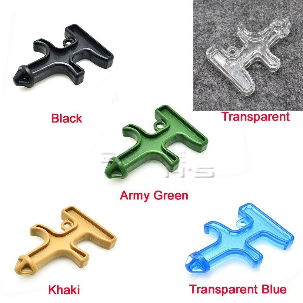 1pcs New Fashion Nylon Plastic Steel Drill/Mini Self Defense Stinger Drill/Protect Tool Key Chain Black