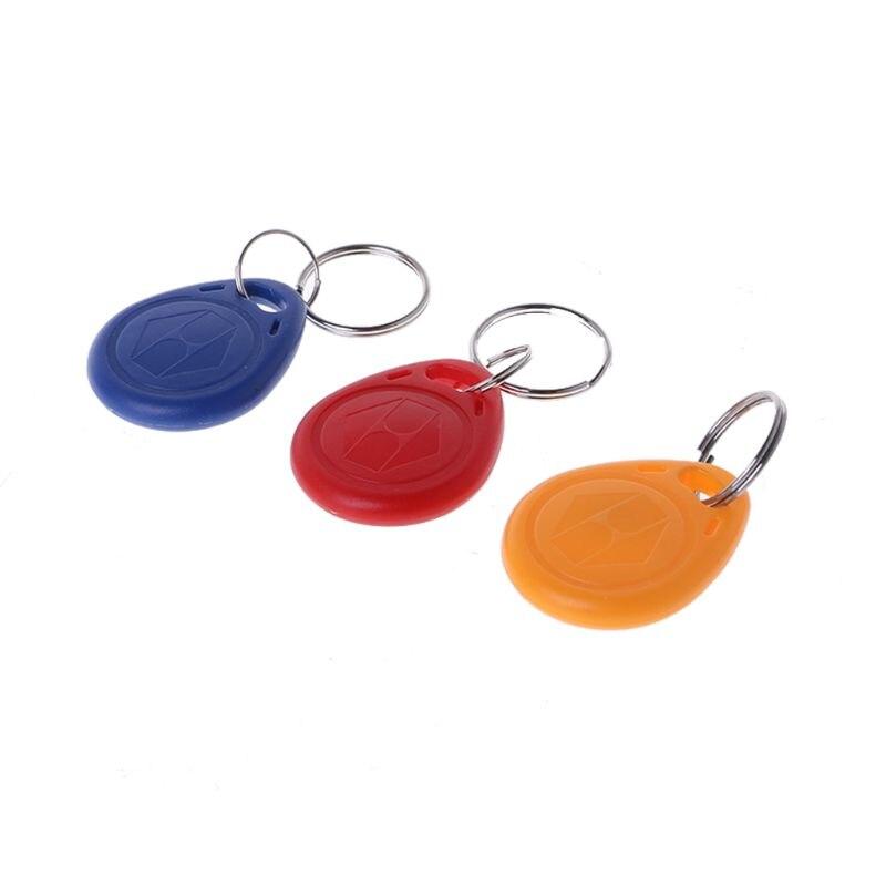 Free Shipping 10 Pcs Duplicator EM4305 T5577 Clone Proximity Badge Writable Rewrite Copy 125khz RFID Tag Llavero Porta Chave Card Sticker Key