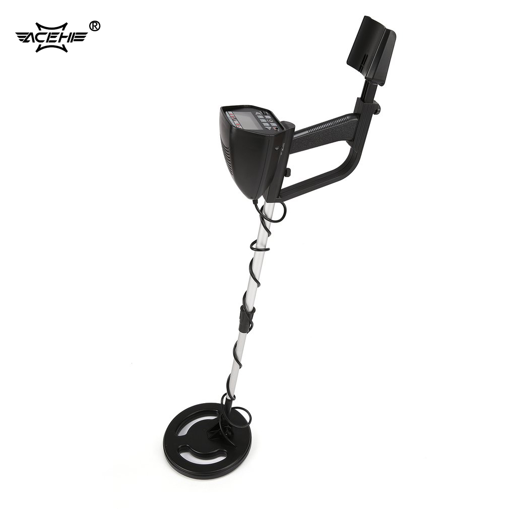 ACEHE MD4050 Professional Portable Metal Detector Underground Gold Detector LCD Display Handheld Gold Digger FinderACEHE MD4050 Professional Portable Metal Detector Underground Gold Detector LCD Display Handheld Gold Digger Finder