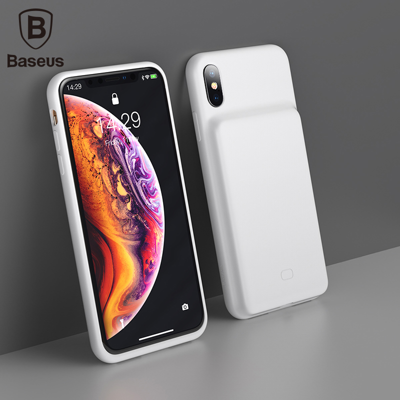 Baseus 3300mAh Power Bank Case Charging For iPhone X/XS XR XS Max Battery Charger Case Power Bank Charger Case Mobile Phone