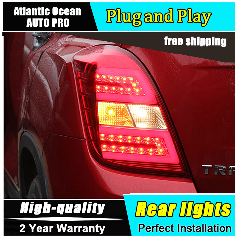 JGRT Car Styling for Chevrolet Tracker Taillights 2014 New Trax LED Tail Lamp GLK LED Rear Lamp Fog Light For 1Pair ,4PCS jgrt car styling for vw tiguan taillights 2010 2012 tiguan led tail lamp rear lamp led fog light for 1pair 4pcs