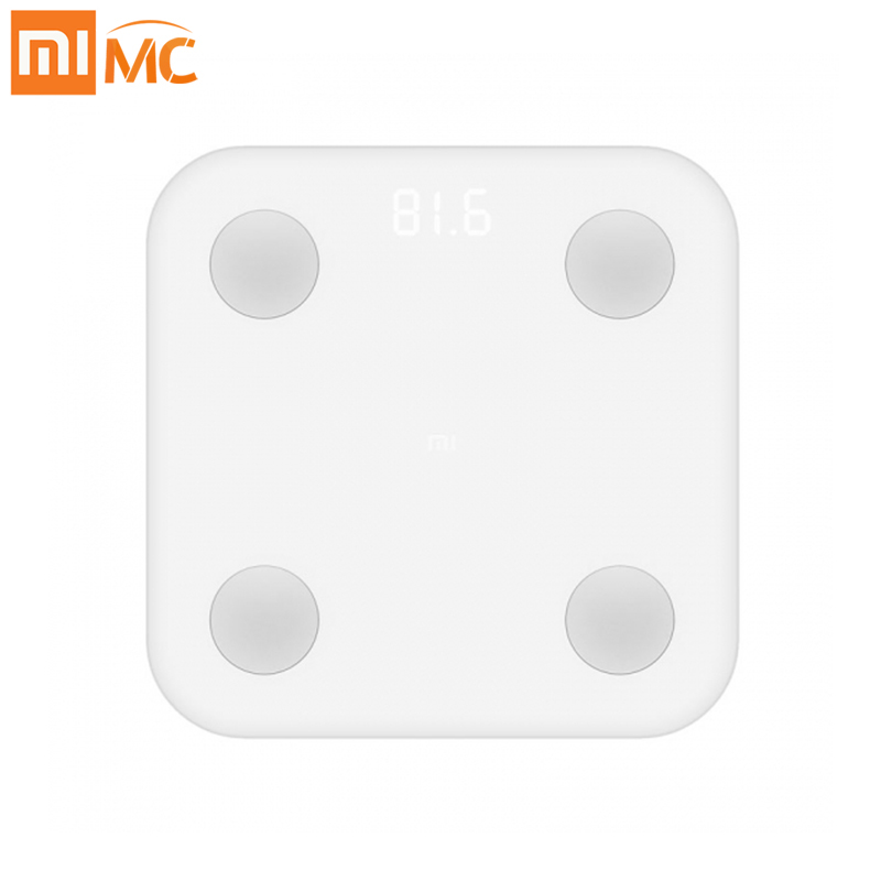 Global Xiaomi Intelligent Body Fat Scale XMTZC02HM My Fit APP Body Composition Monitor with Hidden LED