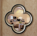 Free shipping flower shape retro resin home make-up mirror