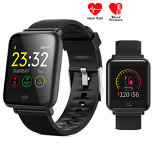 Q9 Sports Smart Watch Men Women Blood Pressure Heart Rate Monitor Fitness Tracker IP67 Smartwatch APP Connect Android Iphone IOS
