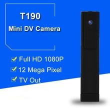 T190 Mini Câmera DVR Full HD 1080 P H.264 Mini Câmera Digital Micro Câmera Da Pena Câmera Pequena Câmera de Vídeo Gravador de Voz DV DVR Camcorder