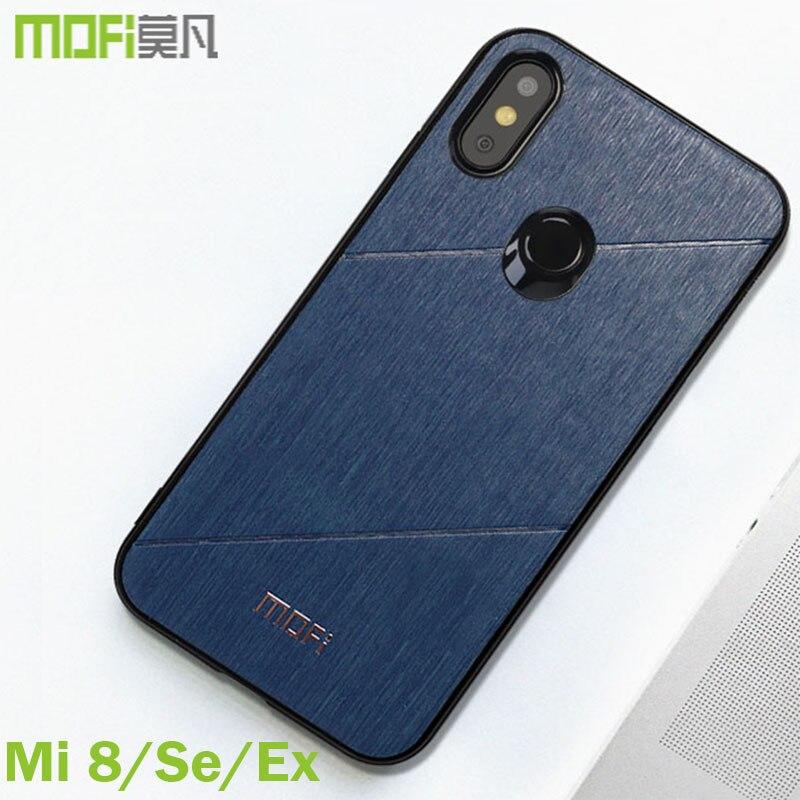 Xiaomi mi 8 fall erkunden version abdeckung Mofi original ausgestattet xiaomi mi 8 abdeckung zurück sds buiness stil für xiaomi mi 8 se fall