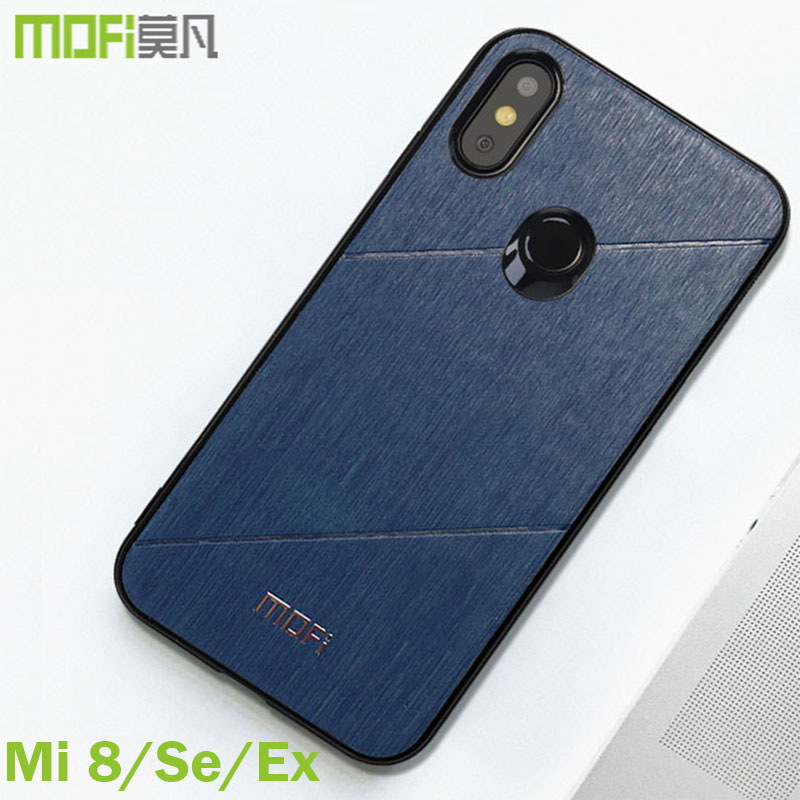 xiaomi mi 8 case explore version cover Mofi original fitted xiaomi mi8 cover back sds buiness style for xiaomi mi 8 se case